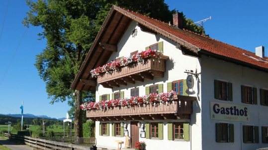 Hotel Restaurant Gasthof Lamprecht Peiting Balkon